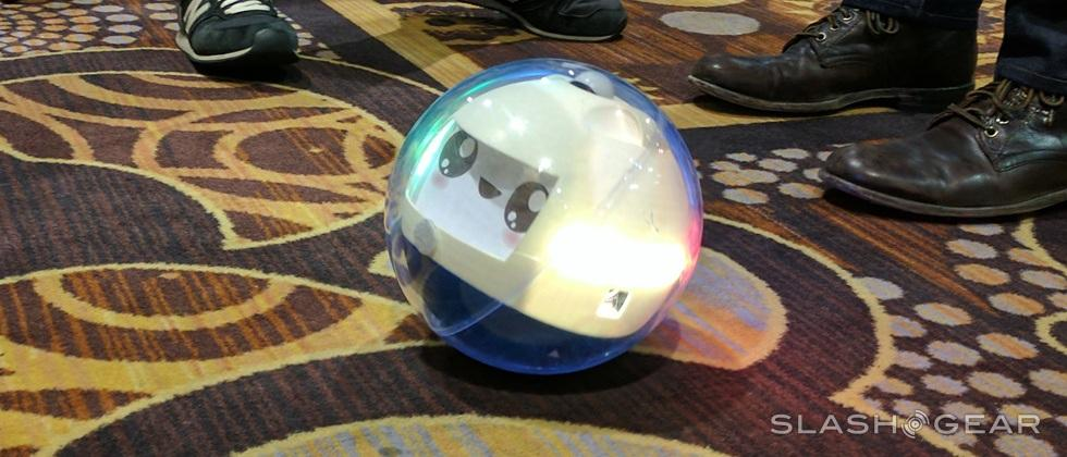 Leka robot ball hands-on: bigger than Sphero (with a face!)