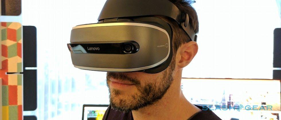 Lenovo Windows Holographic VR headset hands-on: affordable release