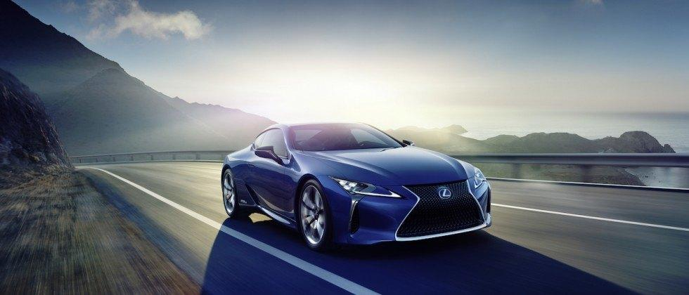2018 Lexus LC priced up, and it's cheaper than we feared
