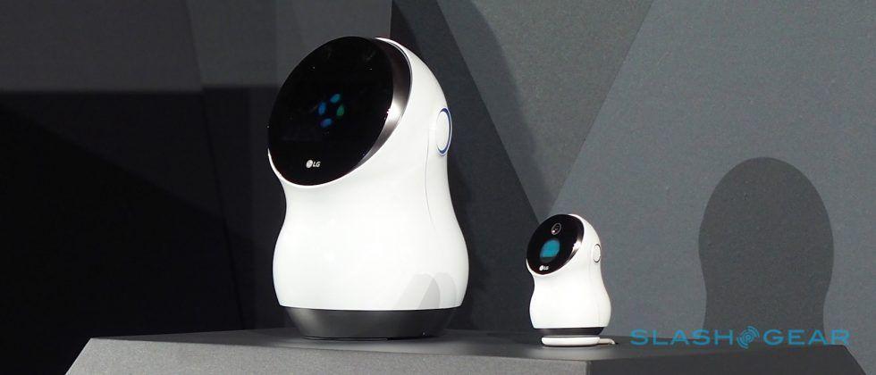 LG sires a dancing Alexa Home Hub 'bot and an airport Dalek
