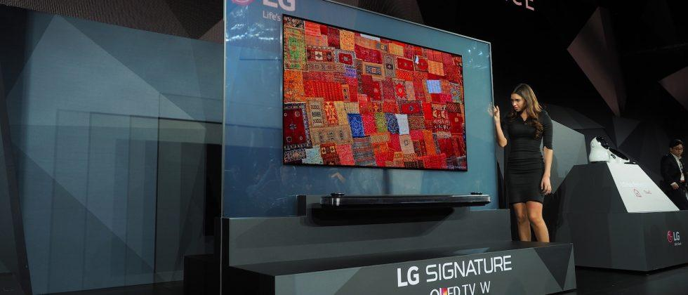 LG's insane OLED W-Series TVs are just 2.57mm thick
