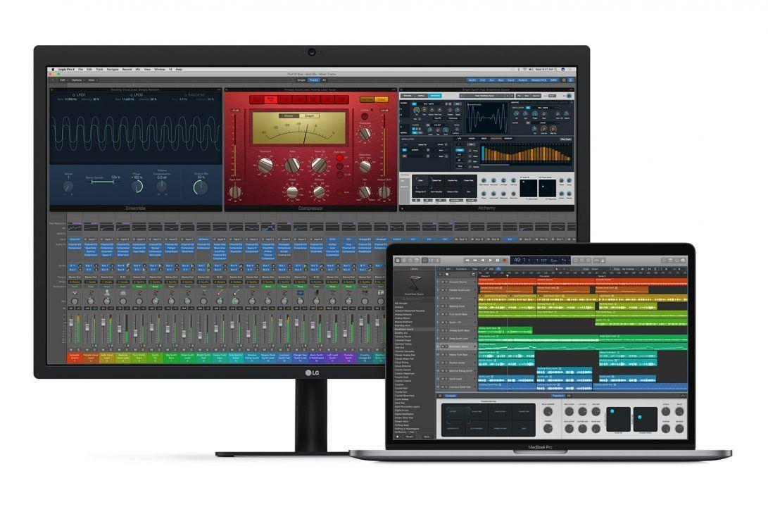 Logic Pro X and GarageBand get big updates: Touch Bar