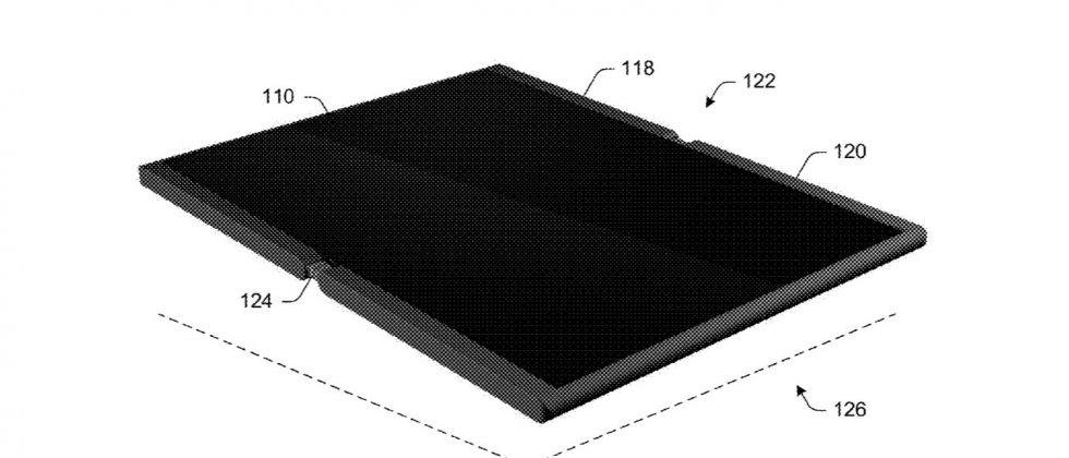 Folding Surface Phone teased in new Microsoft patent