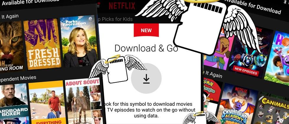 Netflix download to microSD card activated: try this