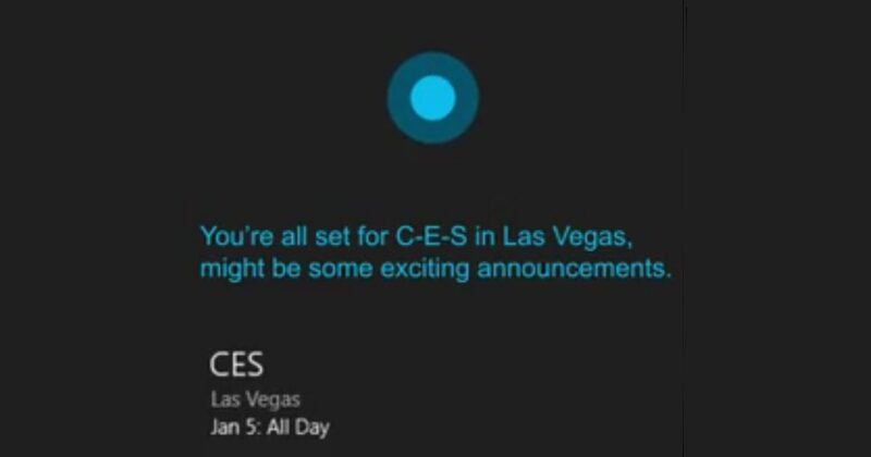 Hey Cortana, tell me about Nissan's CES 2017 keynote