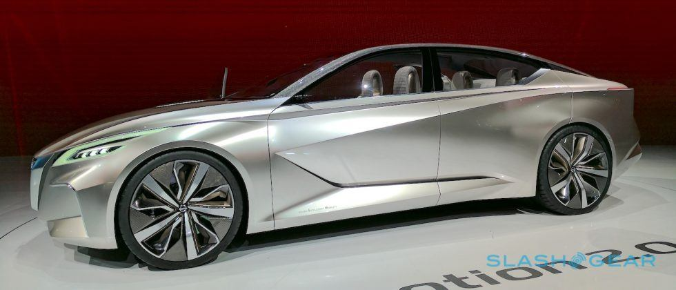Nissan Vmotion 2.0 concept car previews bold new self-driving sedan