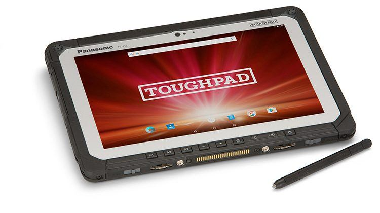 Panasonic's Toughpad A2 tablet is a rugged beast