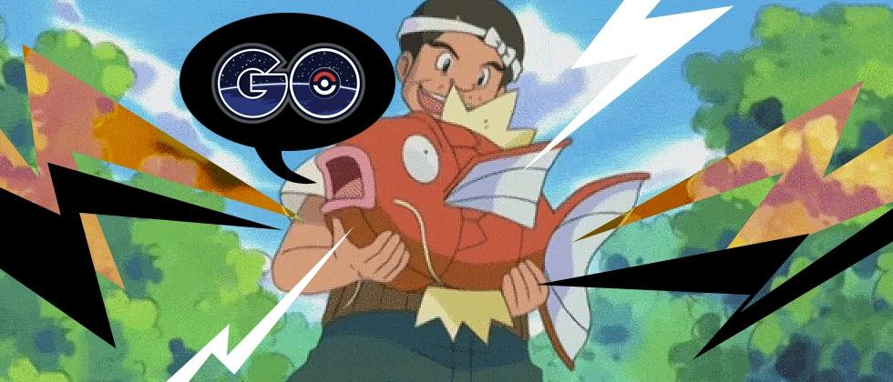 The next Pokemon GO event update could be Magikarp heavy
