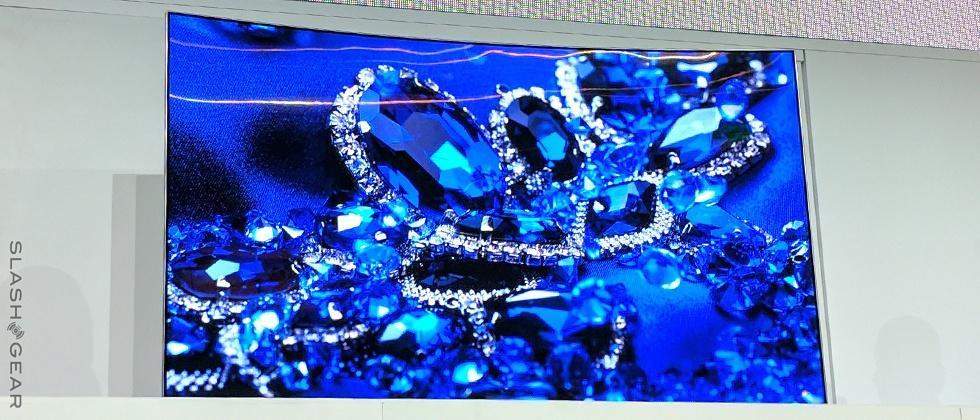 Samsung's first QLED TV up close: intense color, versatile hardware