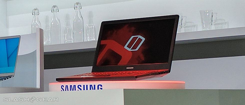 Samsung Notebook Odyssey is quite obviously a gaming laptop