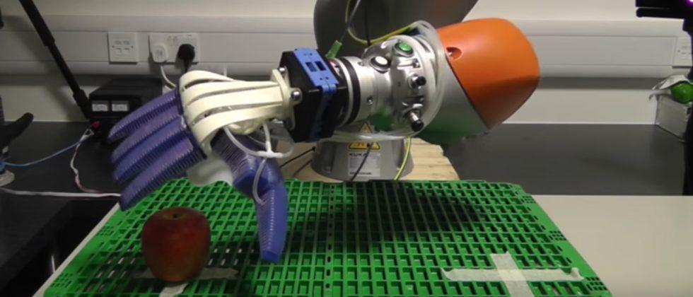 Ocado tests gentle robot hands for picking and packing fruit