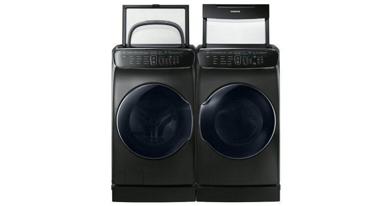 Samsung FlexWash+FlexDry laundry system mixes 4 machines in 1
