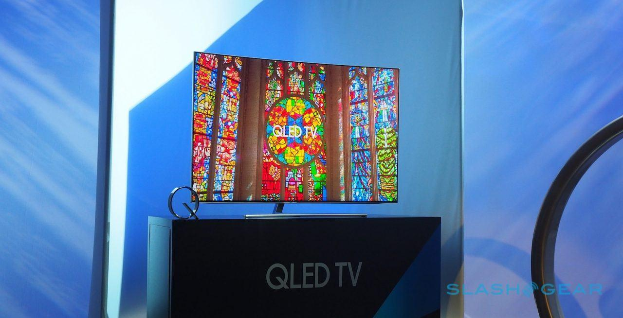 Samsung's QLED TVs wow with Quantum Dot 4K and easy mounts - SlashGear