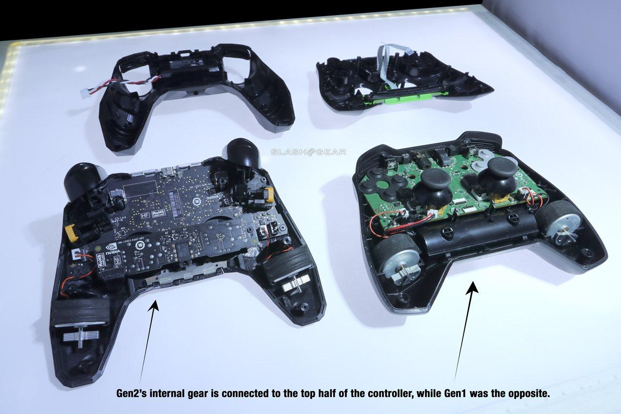 The joysticks themselves are just a bit different. The new sticks don't have the same all-over silicone ...