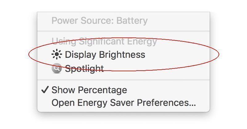 macOS Sierra will soon warn if your display sucks up battery