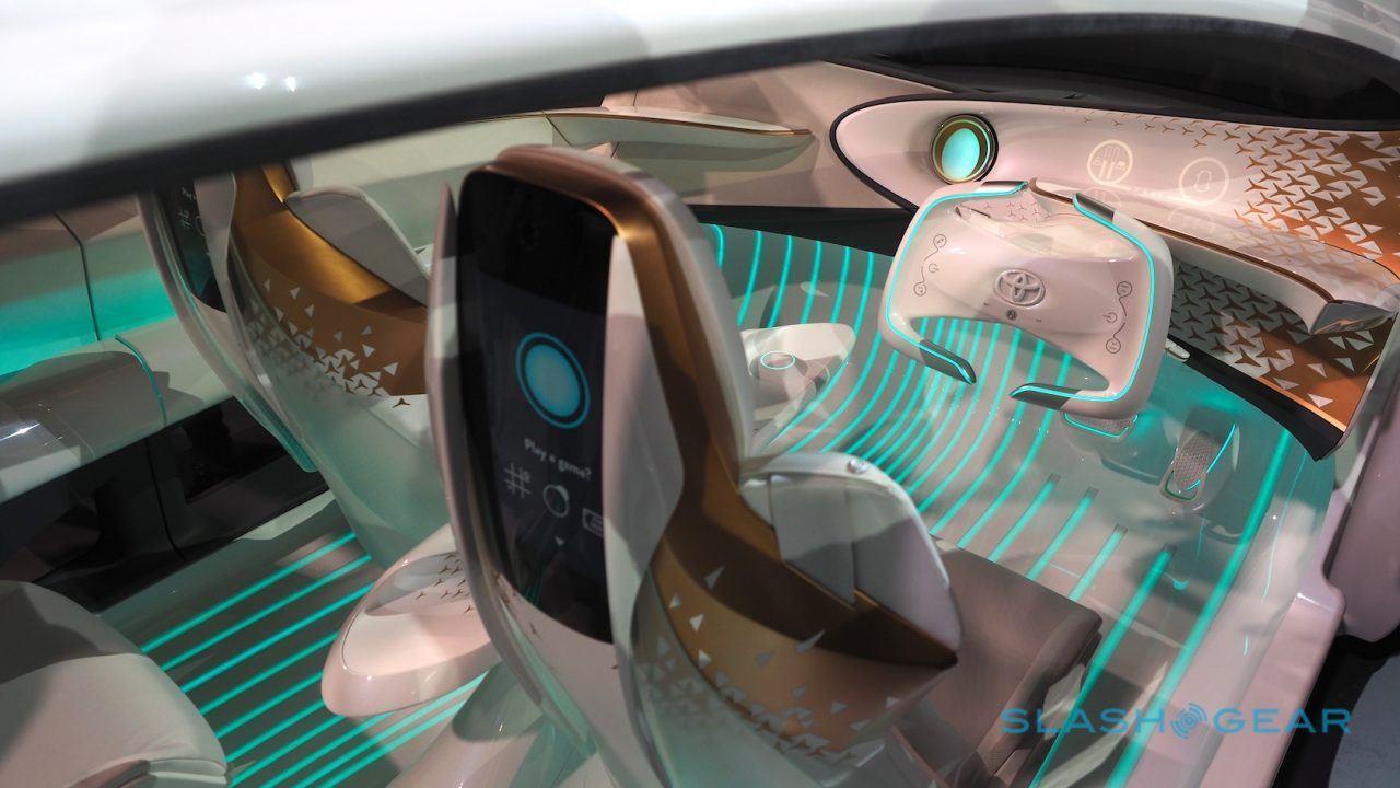 Toyota Concept I Gallery Slashgear