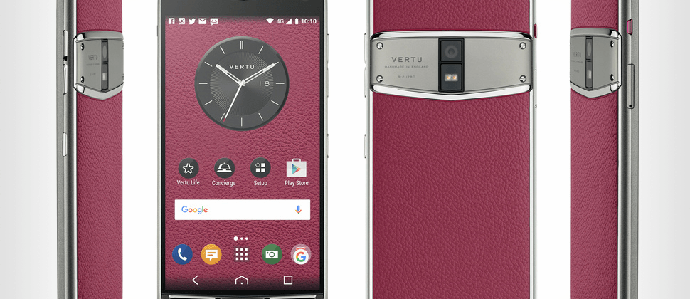 Vertu presents its latest in absurdly expensive phones