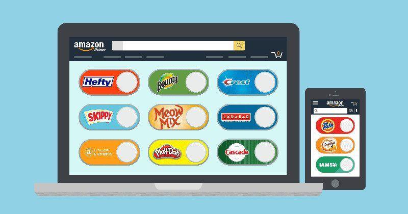 Amazon Dash one-click ordering goes digital