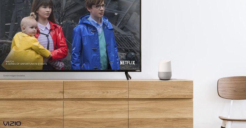 VIZIO brings Google Home integration to SmartCast devices