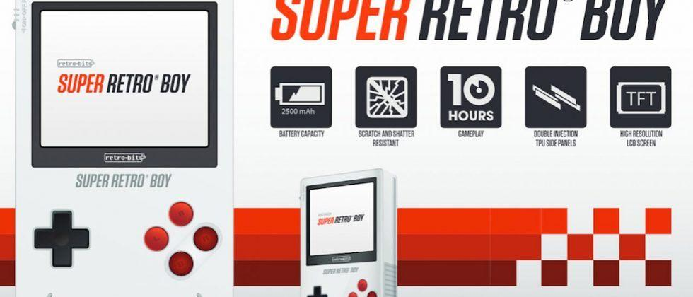 Super Retro Boy is almost the 'Game Boy Classic' of your dreams