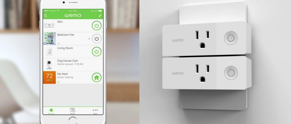 Wemo Mini Smart Plug and Dimmer Light Switch work with Nest
