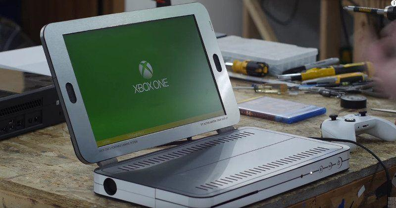Xbox One S laptop made real, courtesy of Ben Heck
