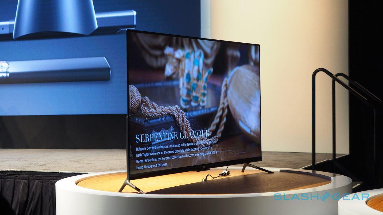 sneakers for cheap 7e45f 61a3a Xiaomi's Mi TV 4 is stunning, 4.9mm thick, and you can't have it ...