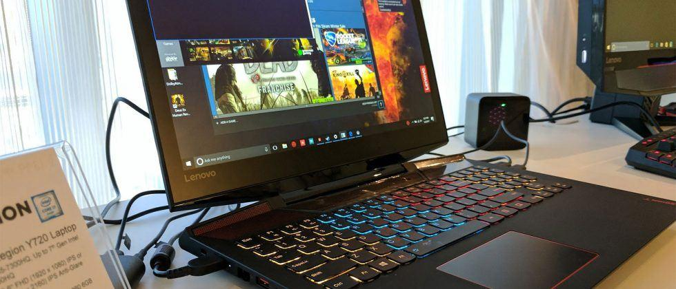 Lenovo Legion Y720 and Y520 laptops launch for your gaming and VR needs