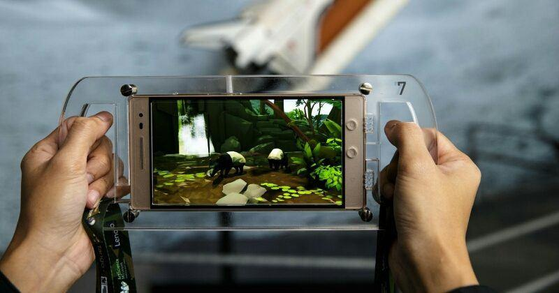 "Lenovo Phab 2 Pro powers ""Into the Wild"" AR adventure"
