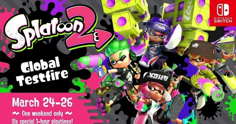 Nintendo Switch owners can get a sneak Splatoon 2 peek