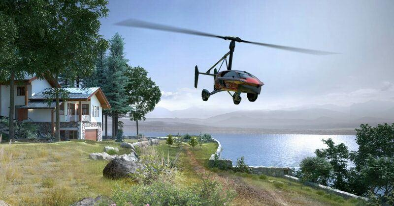 PAL-V now selling world's first commercial flying cars