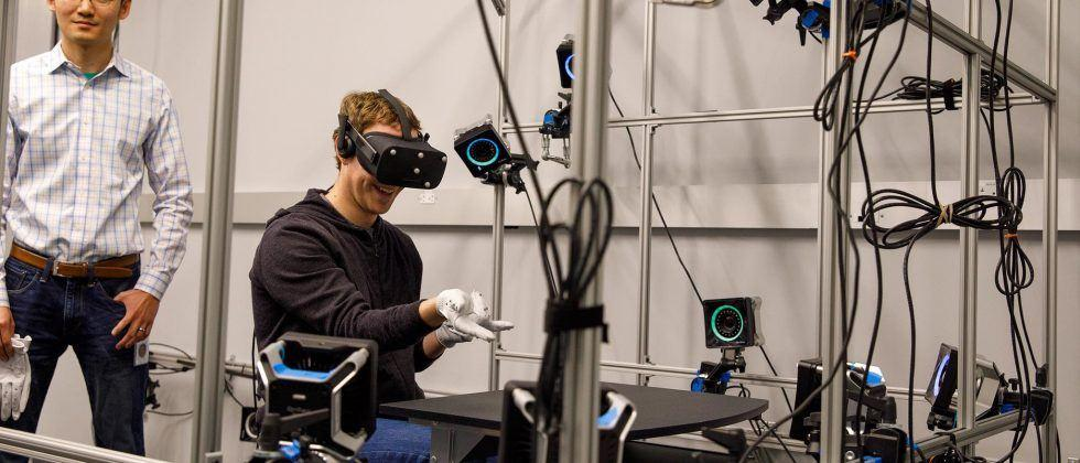 Zuckerberg shows Oculus gloves for ultra-sensitive VR control