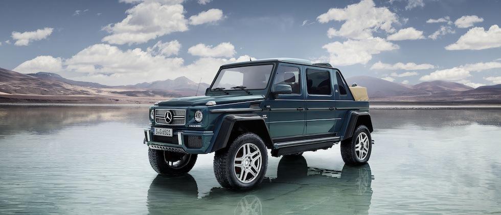 Mercedes-Maybach G 650 Landaulet cranks G-Wagon to max-crazy