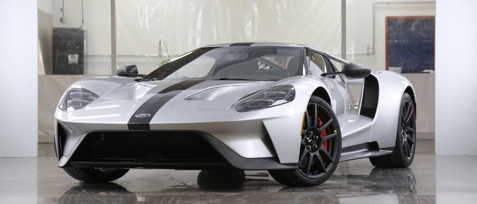 Ford GT Competition Series puts supercar on a diet