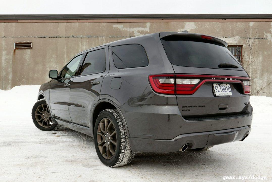 2017 Dodge Durango R T Review No Srt Required For This V8