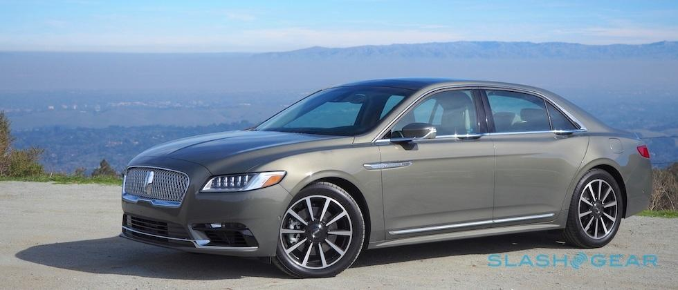 2017 Lincoln Continental AWD Reserve Review: American Cheese