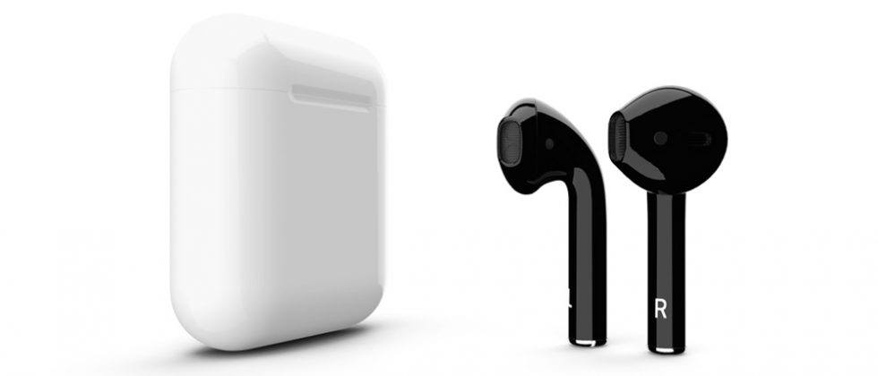 ColorWare offers AirPods in Jet Black and 57 other colors