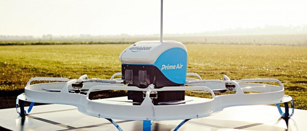 Amazon patent details delivery drone drops using parachutes