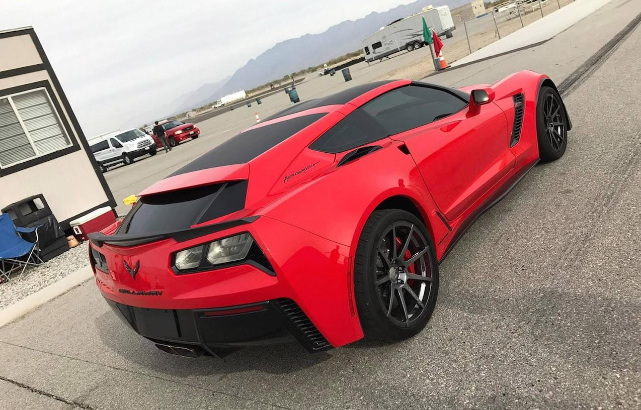 Give your Corvette a wagon look with Callaway's new