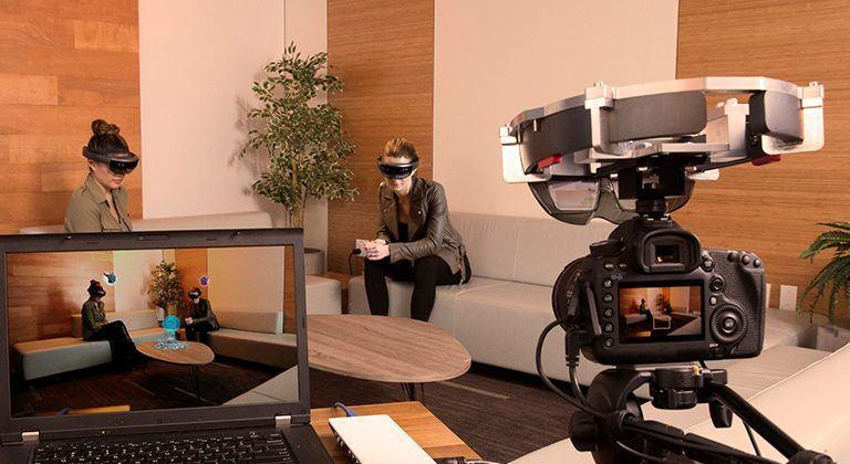 HoloLens Spectator View gives others a look at your virtual world