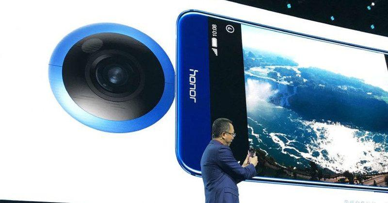 Honor VR Camera is a custom-made Insta360 Air