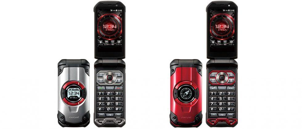Kyocera Torque X01 is an ultra-durable, military-grade flip phone
