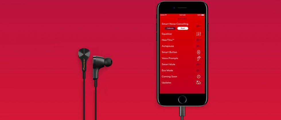 Pioneer Rayz Plus Lightning earbuds have a port for iPhone charging