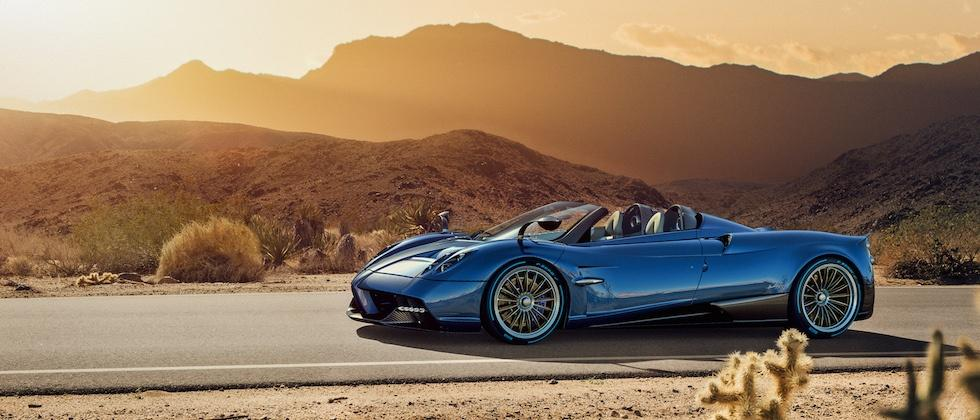 This is the $2.43m Pagani Huayra Roadster