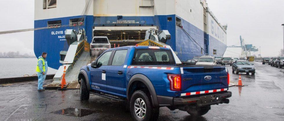 Ford sets the 2017 F-150 Raptor loose in China