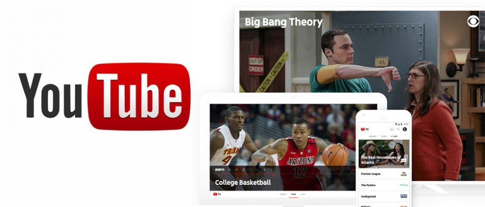 YouTube TV unveiled: live television with major networks, sports, and DVR