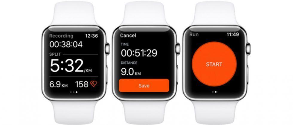 Strava fitness app arrives for Apple Watch Series 2