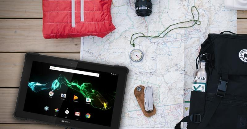 ARCHOS 101 Saphir rugged tablet comes with a keyboard