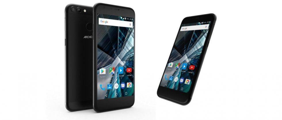 ARCHOS 50 Graphite and 55 Graphite smartphones unveiled