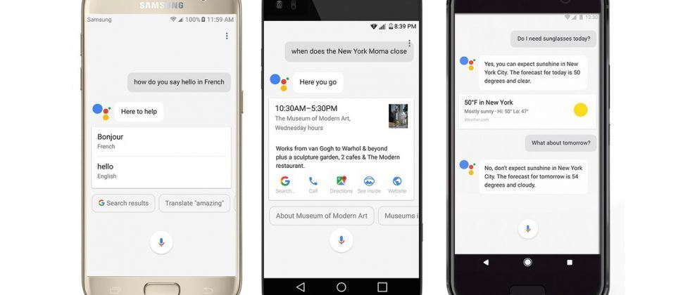 Google Assistant coming to Android Marshmallow and Nougat phones